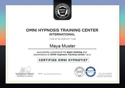 Zertifikat OMNI Basic 600x424
